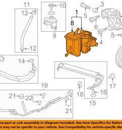 details about chevrolet gm oem 12 13 impala power steering pump 22866404 [ 1000 x 798 Pixel ]