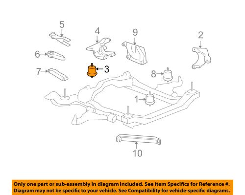 small resolution of details about gm oem engine motor mount torque strut 25857748