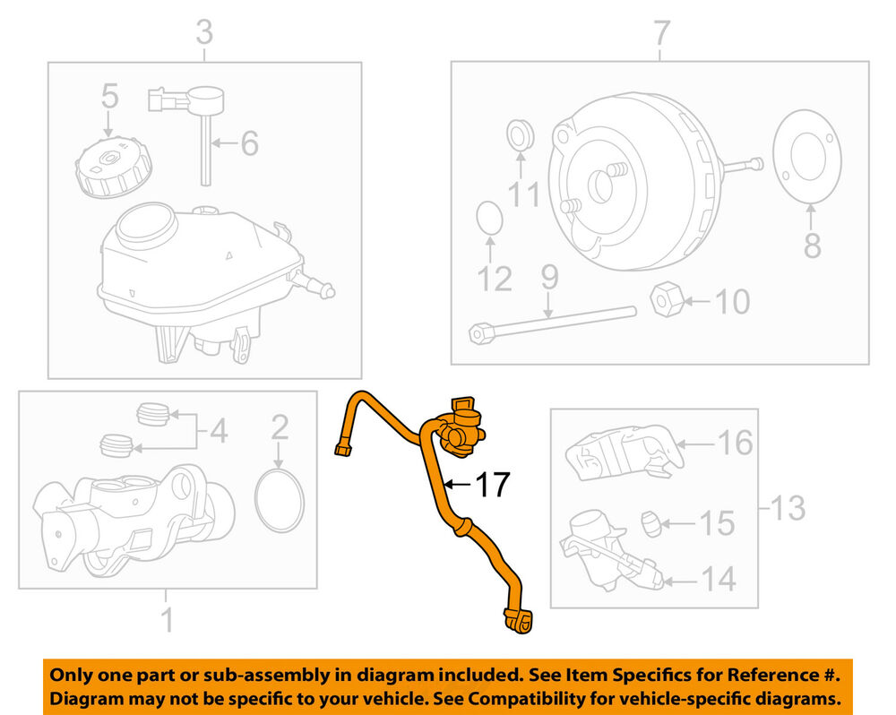 hight resolution of details about chevrolet gm oem 11 12 cruze vacuum hose 13457666