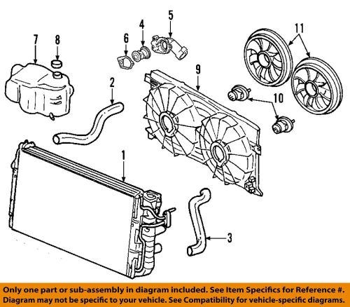 small resolution of details about gm oem engine cooling fan motor 19130470