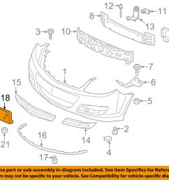 details about saturn gm oem 07 09 aura license plate bracket mount holder 22725681 [ 1000 x 798 Pixel ]