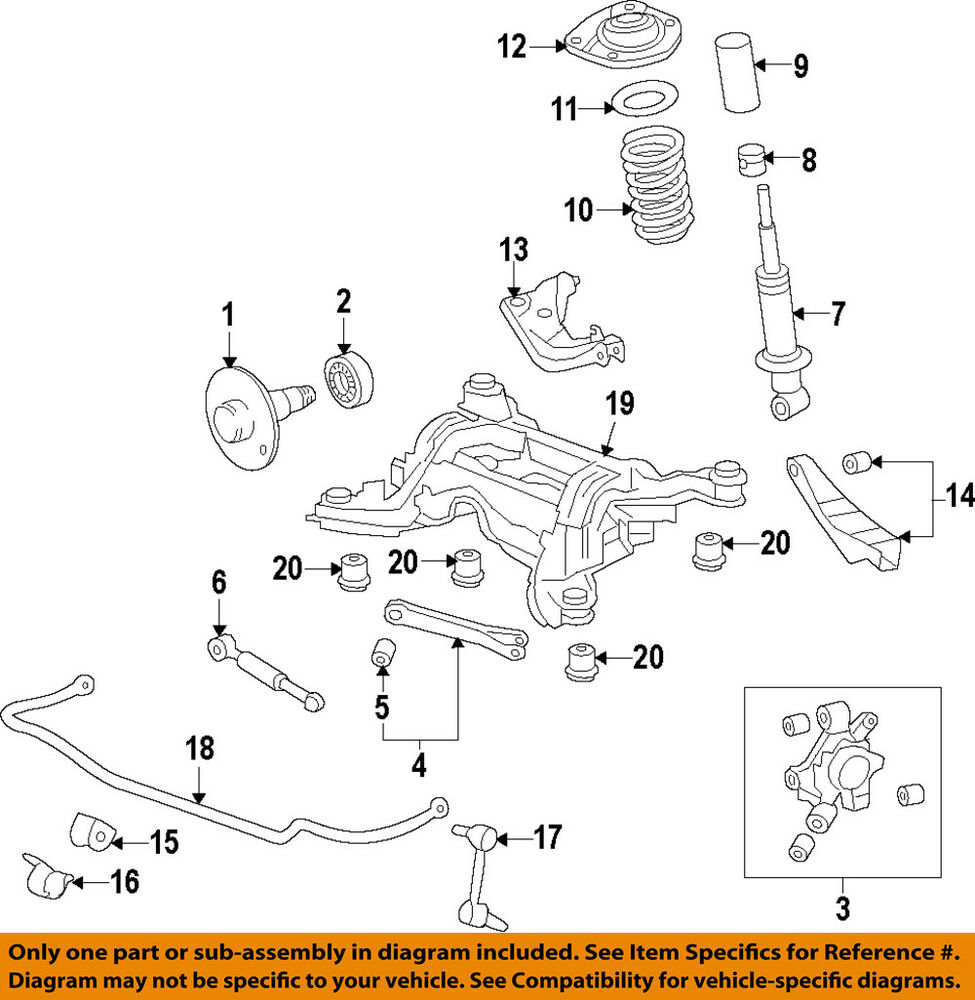 medium resolution of details about chevrolet gm oem 10 15 camaro rear suspension knuckle spindle 23262763