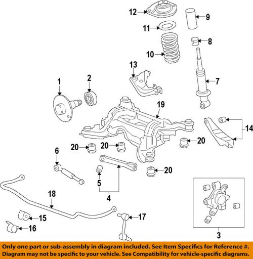 small resolution of details about chevrolet gm oem 10 15 camaro rear suspension knuckle spindle 23262763