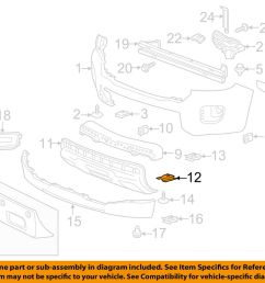 details about gm oem front bumper lower cover brace right 23432302 [ 1000 x 798 Pixel ]