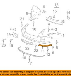 details about cadillac gm oem 08 11 sts front bumper lower support right 25786156 [ 1000 x 798 Pixel ]