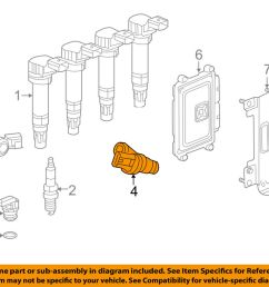 details about chevrolet gm oem spark engine crankshaft crank position sensor cps 25185280 [ 1000 x 798 Pixel ]