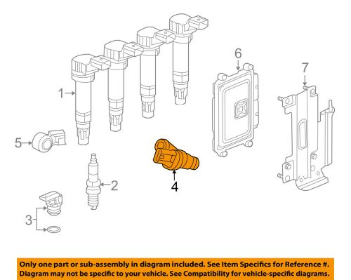 small resolution of details about chevrolet gm oem spark engine crankshaft crank position sensor cps 25185280