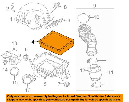 small resolution of details about gm oem engine air filter element 95021102
