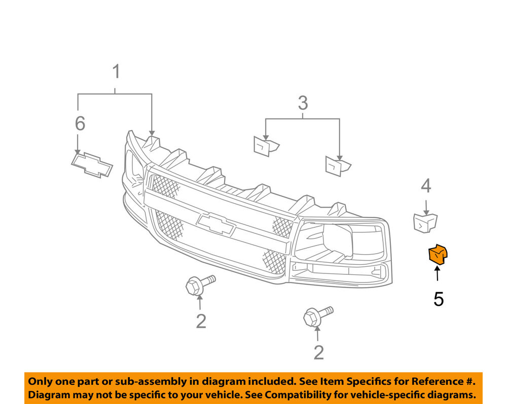 hight resolution of details about gm oem front bumper impact bar u nut 11609385