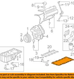 details about cadillac gm oem 04 09 xlr engine oil pan gasket 12568928 [ 1000 x 798 Pixel ]
