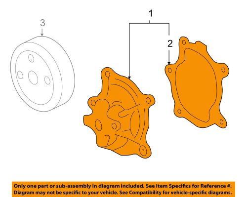 small resolution of details about gm oem engine water pump 89060479