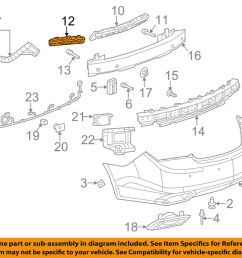 details about buick gm oem 14 16 lacrosse rear bumper outer support right 9014763 [ 1000 x 798 Pixel ]