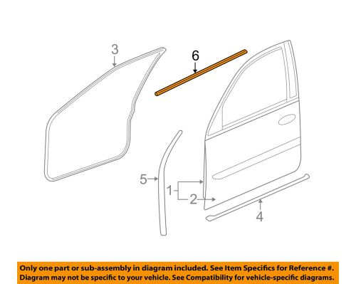 small resolution of details about cadillac gm oem front door belt weatherstrip weather strip seal left 15224676