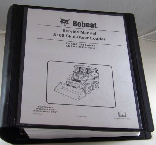 small resolution of details about bobcat s185 skid steer loader service manual