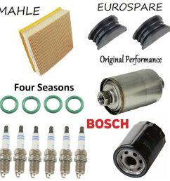 details about tune up kit spark plugs air oil fuel filter for jaguar xj6 l6 4 0l 1991 1992 [ 996 x 1000 Pixel ]