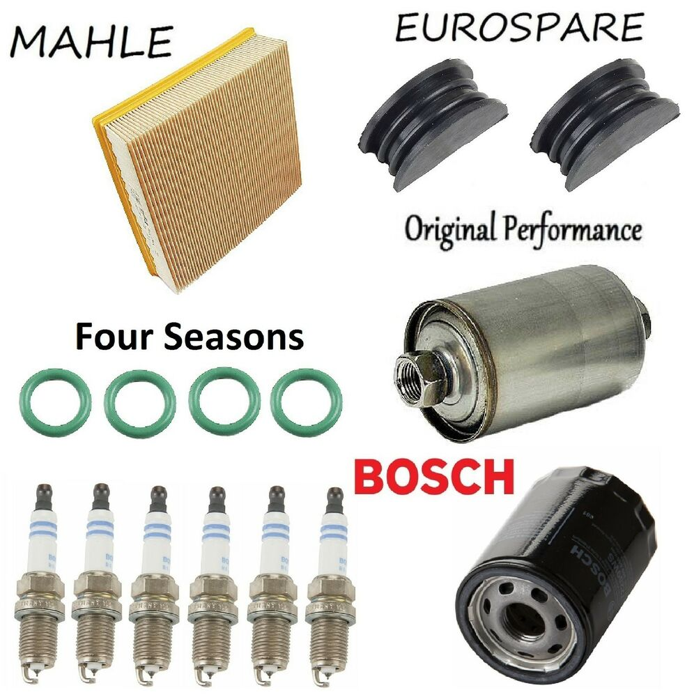 hight resolution of details about tune up kit spark plugs air oil fuel filter for jaguar xj6 l6 4 0l 1991 1992