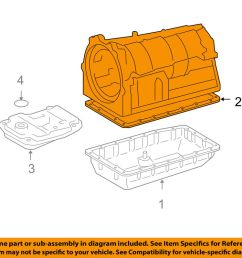 details about toyota oem automatic transmission pan gasket 3516860010 [ 1000 x 798 Pixel ]