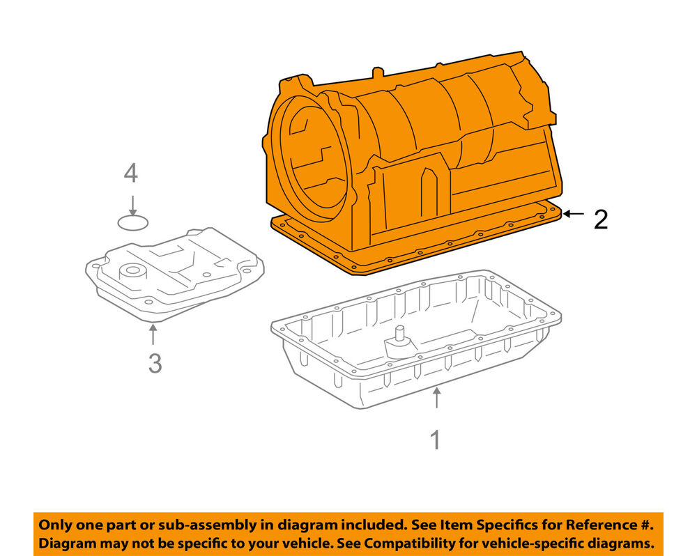 medium resolution of details about toyota oem automatic transmission pan gasket 3516860010