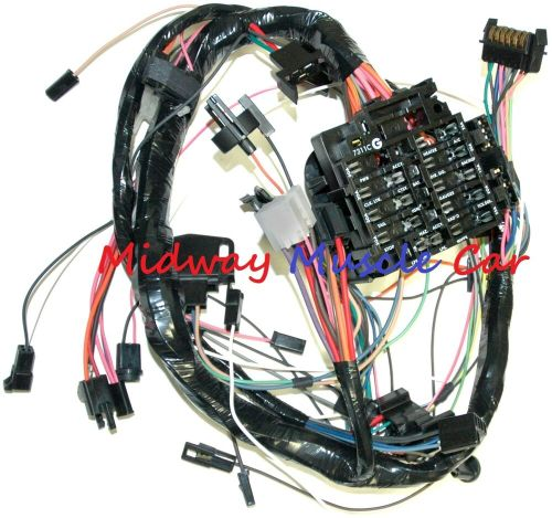 small resolution of details about dash wiring harness with fuse block 79 80 chevy camaro