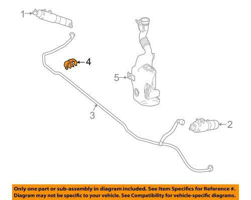 small resolution of details about mercedes mercedes benz oem washer headlight head light hose clip 0039952877