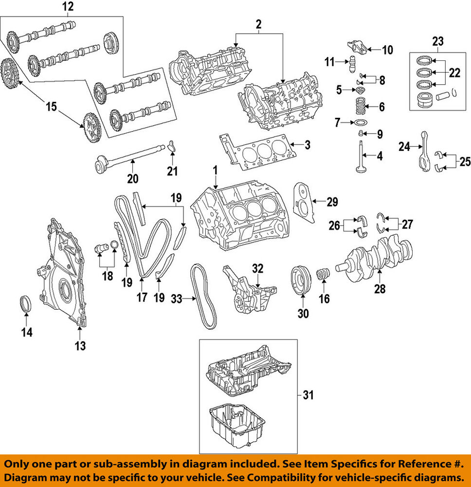 medium resolution of details about mercedes mercedes benz oem ml350 engine timing camshaft cam gear 6420521801