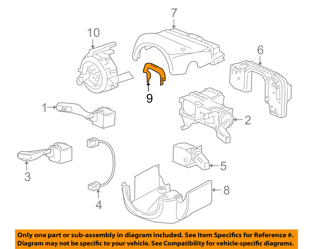 medium resolution of details about porsche oem 05 13 911 steering column cable guide 99761020600