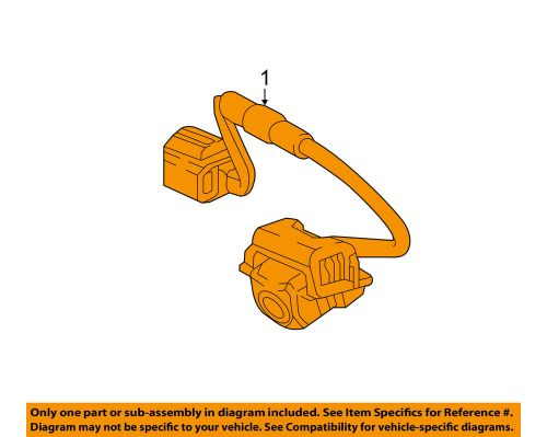 small resolution of details about honda oem 17 18 civic electrical rear backup camera 39530tgga01