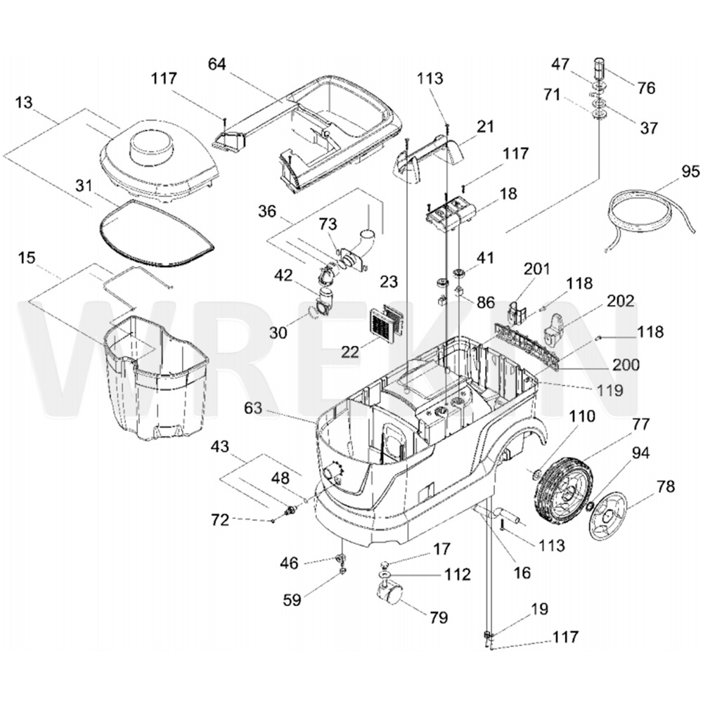 Karcher Spare Parts Diagram