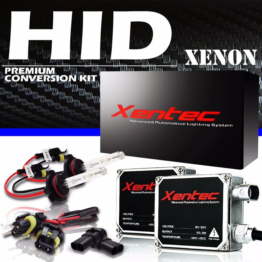 hight resolution of details about xentec hid xenon 55w kit gmc suburban terrain yukon denali xl hybrid xl 6000k 8k