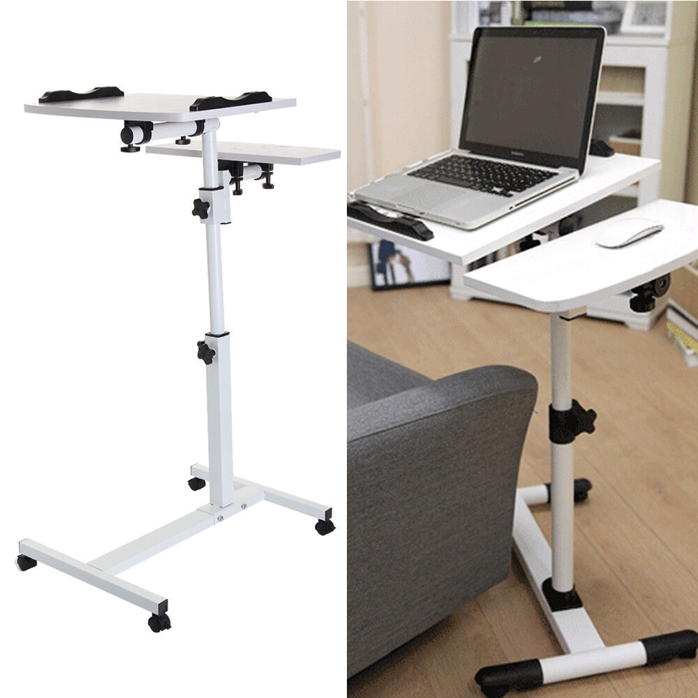 Adjustable Portable Laptop Desk Lazy Table Stand Lap Sofa