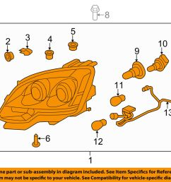 gmc oem acadia headlight ebay jpg 1000x798 gmc acadia headlight diagram [ 1000 x 798 Pixel ]