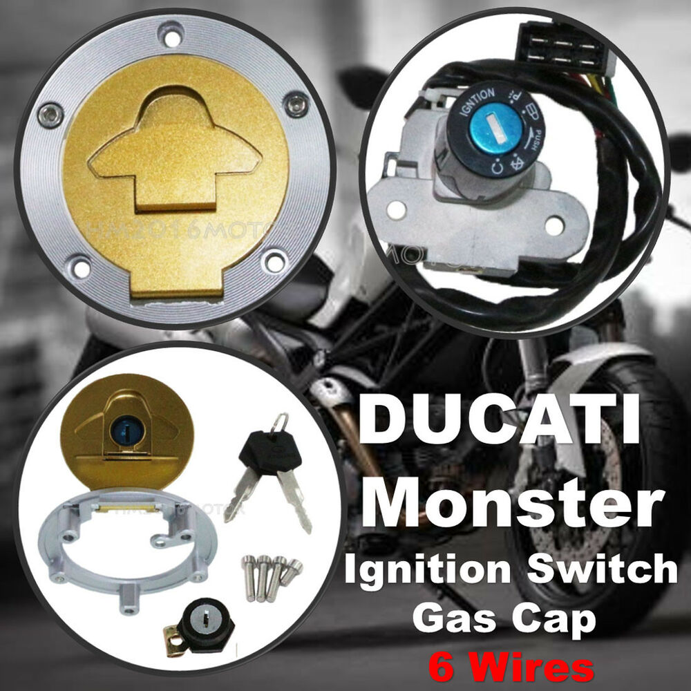 medium resolution of details about ignition switch gas cap cover seat lock for ducati monster 750 900 metallic dark
