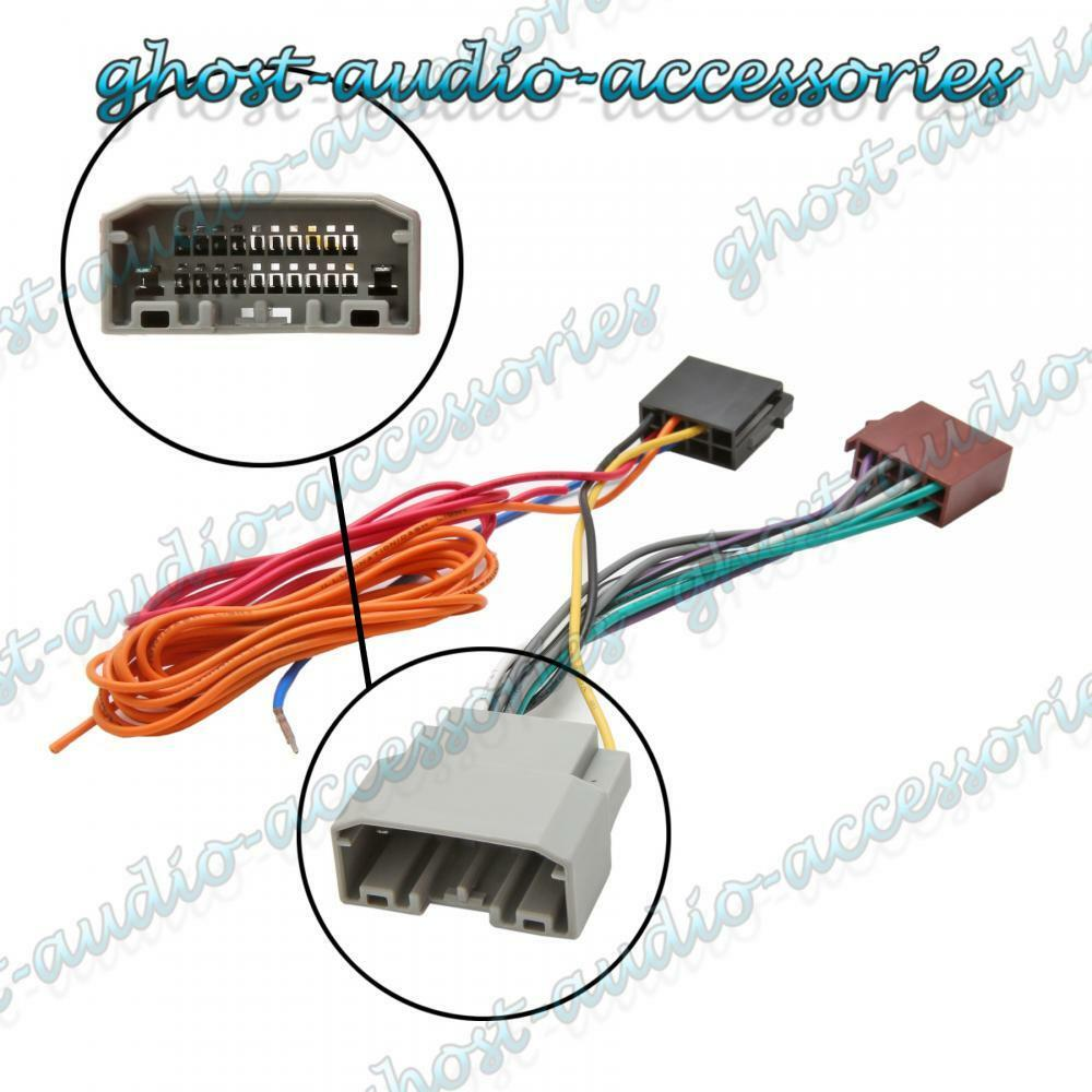 hight resolution of car stereo radio iso wiring harness connector adaptor cable for dodge challenger ebay