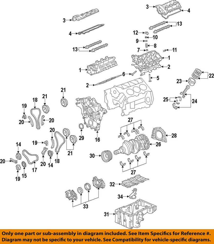 medium resolution of details about gm oem engine parts lower oil pan 12647615