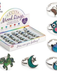 Colour changing pretty mood ring change feelings emotion chart christmas  uk ebay also rh