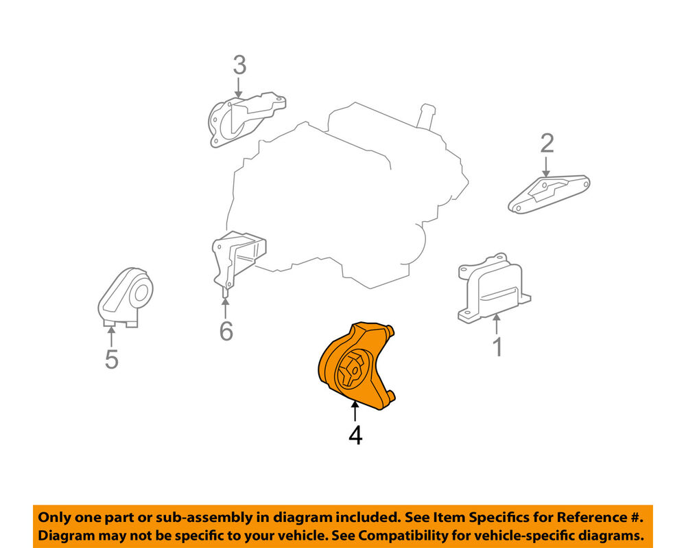 hight resolution of details about saturn gm oem 08 10 vue auto transmission mount 25869278