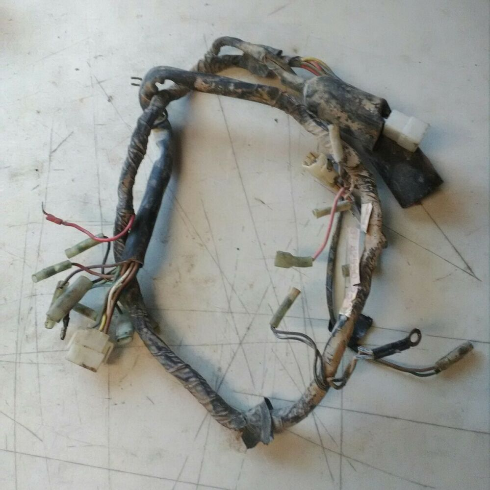 medium resolution of details about 1974 yamaha dt175 dt 175 wiring harness main plugs plug connector oem 2309