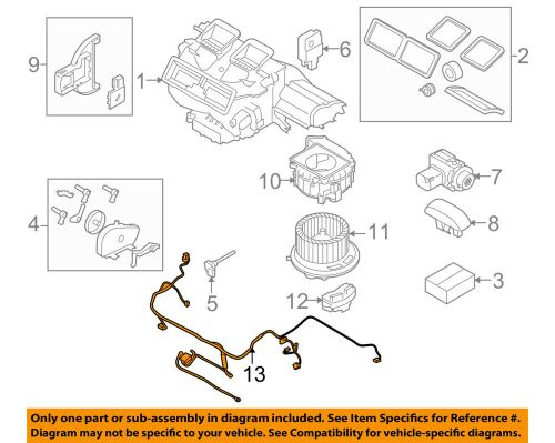 small resolution of details about bmw oem 07 12 328i blower motor fan wire harness 64116932680