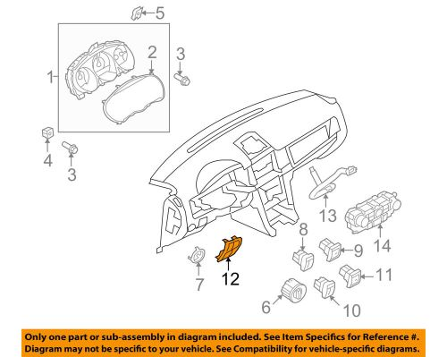 small resolution of details about lincoln ford oem 10 12 mkz dash cluster switch switch panel ah6z5404338ad