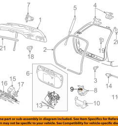 details about ford oem liftgate tailgate door ajar switch f1dz14018a [ 1000 x 798 Pixel ]