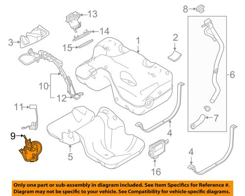 small resolution of land rover oem 12 13 range rover evoque 2 0l l4 fuel pump right lr052710 air