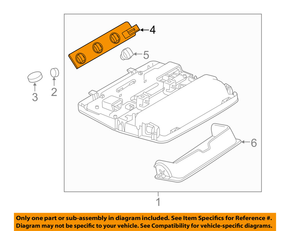 hight resolution of details about land rover oem 13 18 range rover evoque overhead console socket panel lr060212