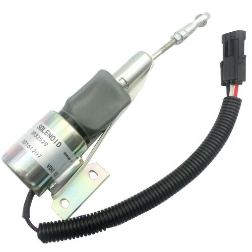 small resolution of details about 12v fuel stop shutoff solenoid 3932529 sa 4756 12 for cummins 4bt 6bt excavator