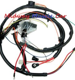 details about engine wiring harness 73 77 chevy chevelle malibu el camino 350 396 454 [ 1000 x 886 Pixel ]