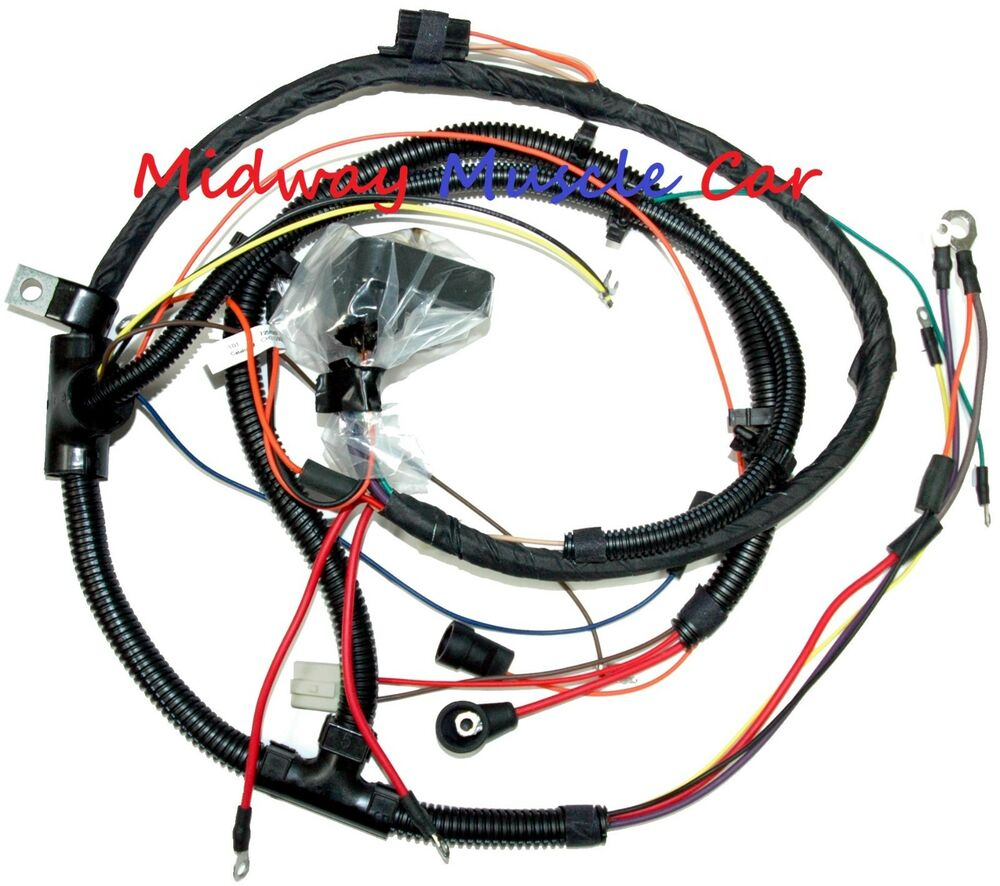 hight resolution of details about engine wiring harness 73 77 chevy chevelle malibu el camino 350 396 454