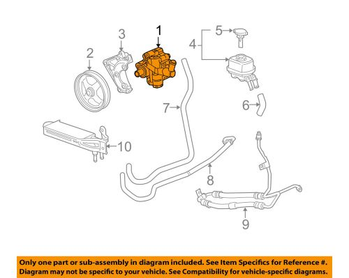 small resolution of details about cadillac gm oem 04 07 cts power steering pump 21997867
