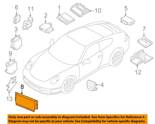 small resolution of details about porsche oem 14 18 911 electrical control module 99161810710