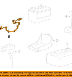 details about ford oem 2009 mustang battery cable 9r3z14300ca [ 1000 x 798 Pixel ]
