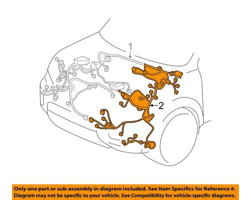 small resolution of details about honda oem 17 18 pilot 3 5l engine control module wiring harness left 32120tg8a21