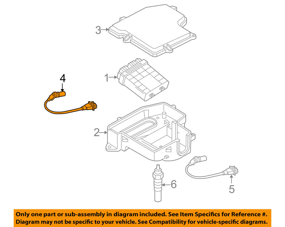 medium resolution of vw volkswagen oem 2005 passat engine camshaft cam position sensor type 2 vw engine diagram 2005 vw pat engine diagram